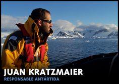 Especialista en Antartida.