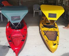 Canopy for your kayak! Keeps you shaded from the sun! Feels like 10 degrees cooler!