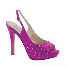 BROOKE-516 Women High Heel Pumps - Purple