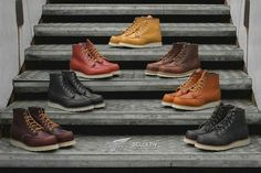 Present-day fashion sneakers carry little resemblance to their earlier forerunners but their popularity continues to be undiminished. Red Wing Heritage Boots, Red Wing Boots, Mens Lace Up Boots, Leather Boots, Men Boots, Dress With Boots, Jeans And Boots, Mens Boots Fashion, Cool Boots