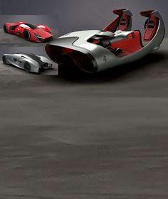Ferrari 2040 concepts
