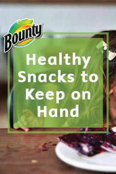 Healthy snacks kept on hand will often ensure healthier eating habits for the whole family. Why not try to keep a variety of good things around to snack on? Check out this helpful list of Healthy Snacks to Have on Hand and encourage your family to adopt better eating habits!