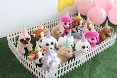 If you adore puppies, you will love this adorable puppy party thrown for a 5 year old's birthday!