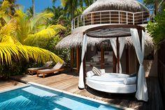Beach Villa In Maldives | Wonderful Beach Oasis at W Retreat & Spa Maldives
