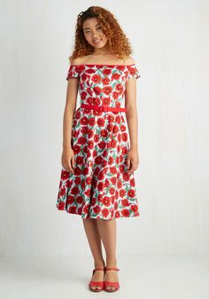 4a883ea9c773 Flirty Pop Dress. Add a captivating air of vibrance to date night with this  floral