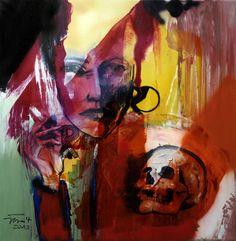 Jerzy Treit_Sans issue 2, 70x70cm, olej na płótnie, 2013r. Na wystawę malarstwa Jerzego Treita zapraszamy od 6 do 17.03.2014r, do Galerii Schody, ul. Nowy Świat 39 w Warszawie. http://artimperium.pl/wiadomosci/pokaz/171,kobieta-i-chaos-jerzy-treit-w-galerii-schody#.UwszbPl5OSr