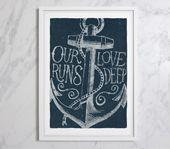 Our Love Runs Deep Print (Large)