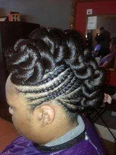 Hairstyles Using Braiding Hair : 2015 Time (Updos Hairstyles)