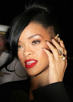 "Another picture of Rihanna attending the premiere of ""Battleship"" held at Luna Park in Sydney"