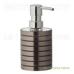 Dosificador baño cercles cobrizo. http://www.lallimona.com/online/bano/