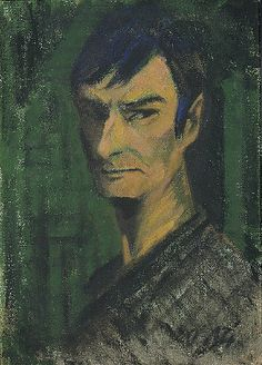 Mueller, Otto (1874-1930) - 1921 Self Portrait by RasMarley, via Flickr