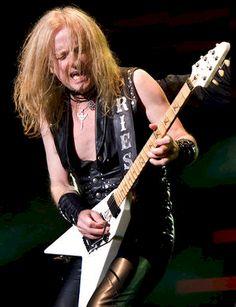 K.K. Downing - Original band member and guitarist of Judas Priest (retired in 2011
