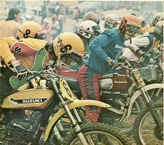 The Glory days of Motocross…