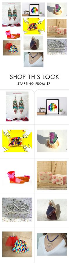 """""""Best gift ideas on Etsy"""" by luckystanlv ❤ liked on Polyvore featuring interior, interiors, interior design, home, home decor and interior decorating"""