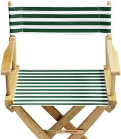 s chair striped canvas seat for only
