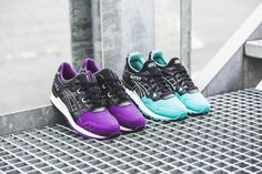 """***RELEASE REMINDER*** The Asics """"50/50 Pack"""" is coming! The turquoise Gel-Lyte V (EU 40,5 - 45,5 