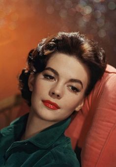 Natalie Wood is so beautiful. West Side Story is one of my favorite movies.