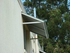 Colorbond Awning with Welded Aluminium Frane - Maroochydore