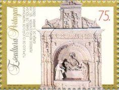 Sello: Sculptures (Portugal) (Sculptures) Mi:PT 2029,Sn:PT 2007c,Yt:PT 2007,Afi:PT 2227