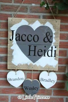 Wood Crafts, Diy And Crafts, Arts And Crafts, Door Signs, Pallet Projects, Little Princess, Workshop, Crafty, Kids