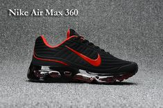 Nike Air Max 360 Men's shoes Black Red