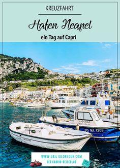 Hafen Neapel Ausflug Capri. Besuch der Insel Capri während einer Kreuzfahrt im westlichen Mittelmeer. Tipps für Capri mit MSC Kreuzfahrten Reisen In Europa, Travel Agency, Mauritius, Beautiful Islands, All Over The World, Jamaica, Have Fun, Italy, Travelling
