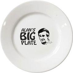 Alan Partridge plate