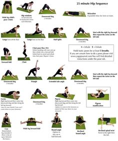 Yoga Hip Sequence 25 Minute
