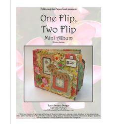 1 flip, 2 flip pattern cover