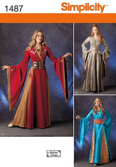 Simplicity 1487 Game of Thrones inspired pattern