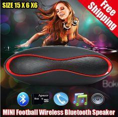 Купить товарНовый мини футбол беспроводная связь Bluetooth спикер воды портативный Altavoces Altavoz Bluetooth колонки, Caixa де сом Bluetooth в категории Колонкина AliExpress.             Новые и оригинальные мини-беспроводная Bluetooth-динамик динамик портативный сабвуфер QFX sd/aux/usb/fm звук