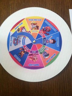 Paw patrol party pup pup boogie game by Craziecrayons on Etsy sold - see if i can print and put together myself