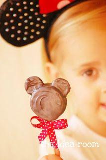 milleideeperunafesta: Minnie: biscottini al cioccolato