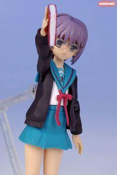 figma figures | Yuki Nagato school uniform version figma figure | Buy Anime Figures