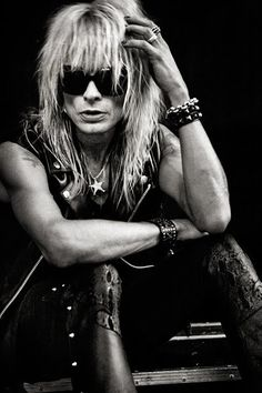 Michael Monroe   the only real rock star from Finland (Hanoi Rocks)