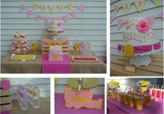 festa rosa e amrelo