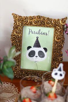 Hoje para jantar ...: A festa dos 2 anos da Maria {Panda e outros animais da floresta}