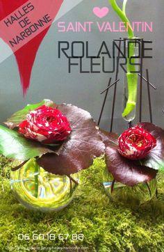 Narbonne pour la Saint Valentin votre fleuriste Rolande bouquets de fleurs de saison et de pays http://www.rolande-fleurs-halles-narbonne.com/article-collection-de-bouquets-tendances-122473531.html