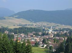Asiago - the main centre of the largest Plateau in Italy, which represents a wide green plain in the heart of the Veneto mountains