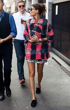 graphic pattern jacket~ Giovanna Battaglia