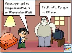 Spanish Classroom Ideas | ipads for spanish spanishplans repinned from spanish comics by melissa ...