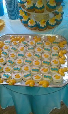 Chocolate covered oreos and chocolate molded duckies