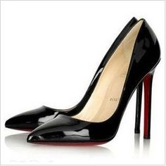2012 cl high heels patent leather women's pumps shoes black-Taobao