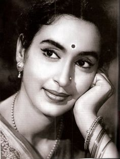 Nutan - a leading actress of Hindi Cinema from the 50's and 60's