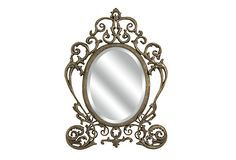 Is it me or does this look like Cinderella's carriage? Thetford Vanity Wall Mirror on OneKingsLane.com