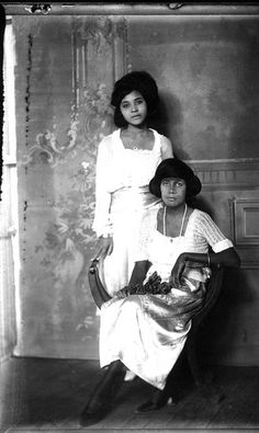 Two young women, c. 1920s