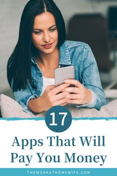 Each app below is legit. You won't find any scams here. Additionally, you won't find money-making apps that rarely have opportunities available. You don't want to waste your time sitting and refreshing an app a dozen times, just hoping that something appears. | The Work at Home Wife