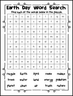 """FREE LANGUAGE ARTS LESSON - """"Earth Day Mini Pack"""" - Go to The Best of Teacher Entrepreneurs for this and hundreds of free lessons. Kindergarten - 3rd Grade #FreeLesson #LanguageArts http://www.thebestofteacherentrepreneurs.net/2016/02/free-language-arts-lesson-earth-day.html"""
