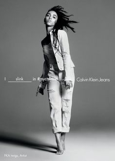1215d313d2 FKA TWIGS FOR CALVIN KLEIN JEANS SPRING 2016 AD CAMPAIGN + VIDEO