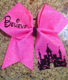 Cheer Bow Believe Summit Worlds Nationals by PinkOutsideTheBow, $15.00 for BCAM